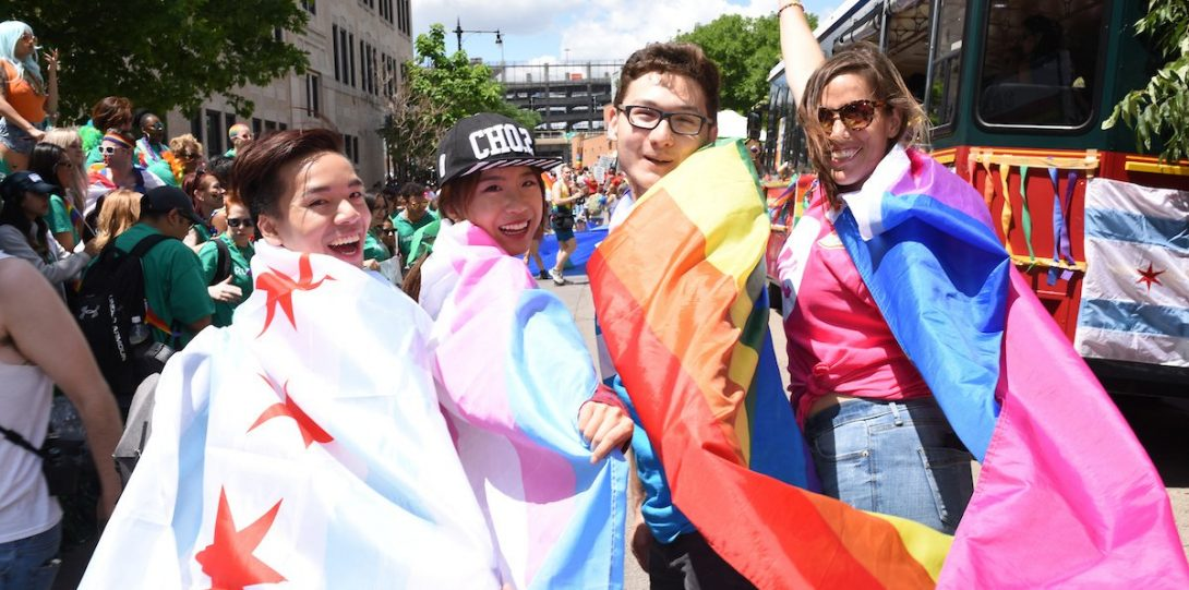 UIC Students at Chicago Pride Parade